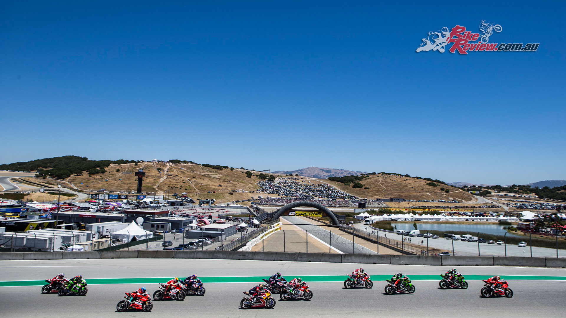 World Superbikes at Laguna Seca