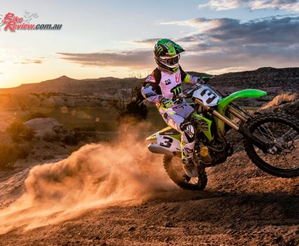 2019 Kawasaki KX450 - Eli Tomac on the new Kawasaki KX450
