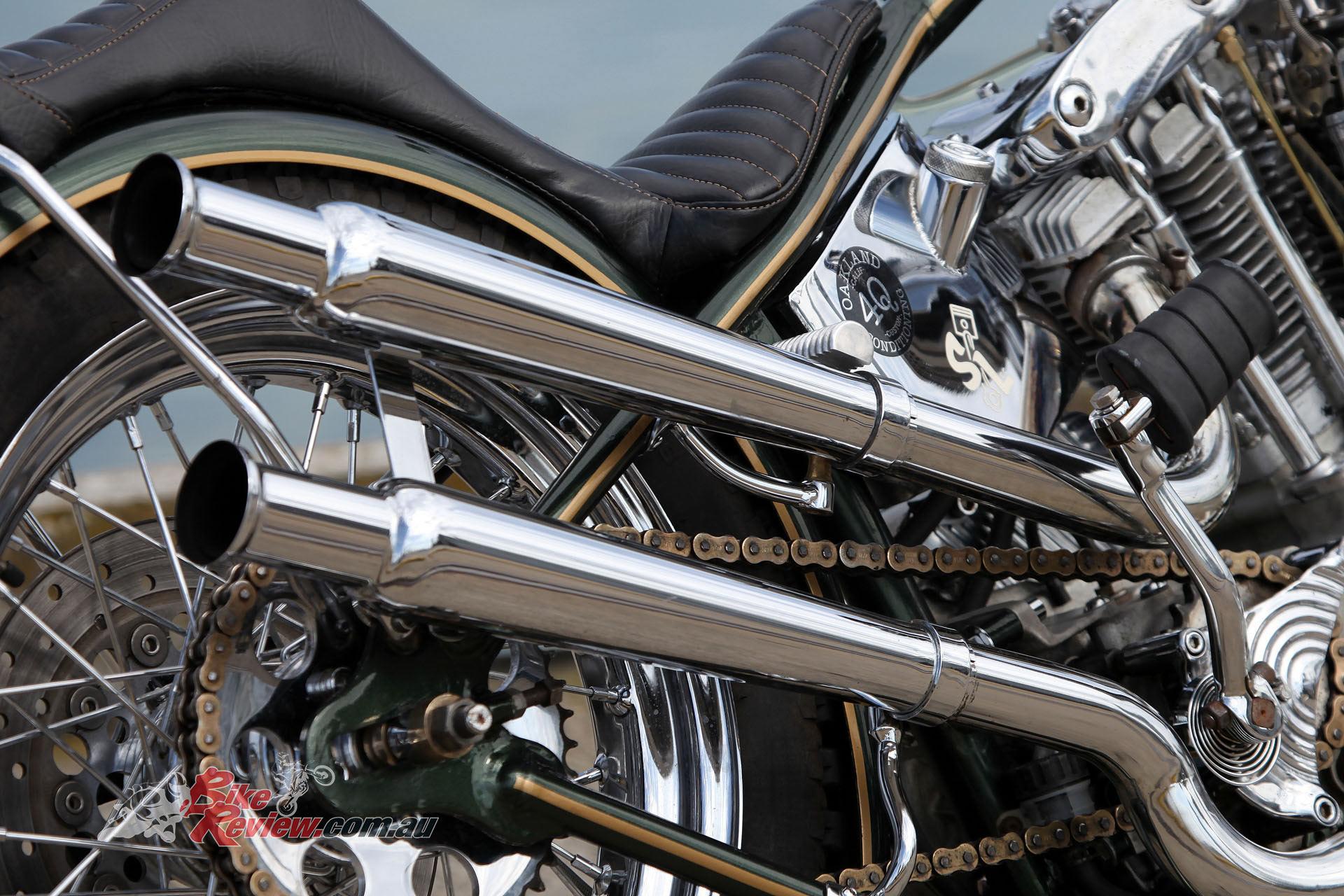 Custom pipes look tops.