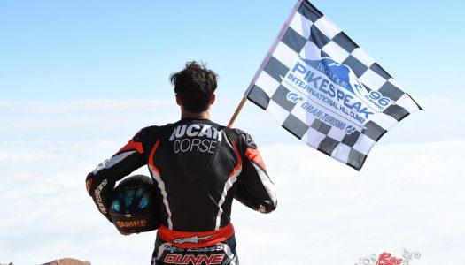 Ducati celebrates 2018 Pikes Peak victory