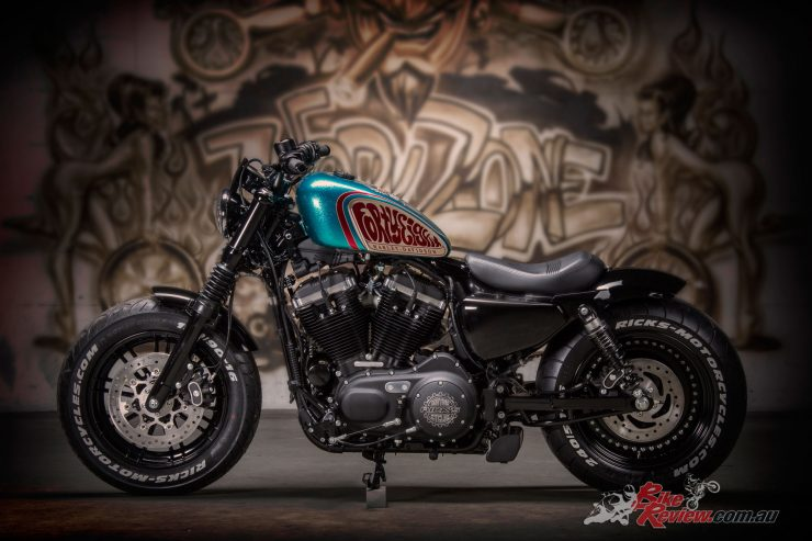 Harley Davidson's Battle of the Kings returns in 2018, and this year Australia is in the competition! 2017 European entrant pictured