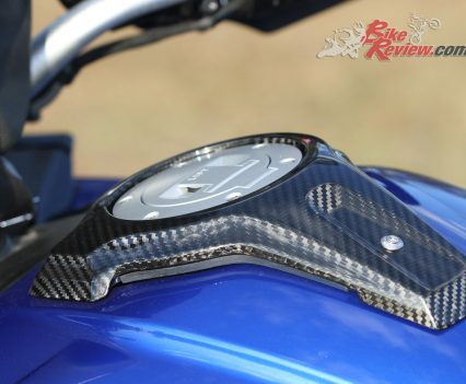 2018 BMW S 1000 XR - HP Carbon cover for fuel filler cap