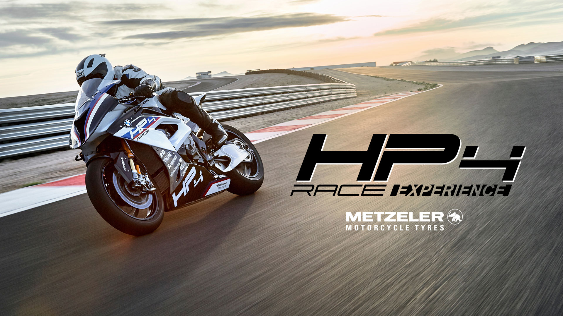 The BMW Motorrad Track Experience Programme will also invite select riders to test ride the HP4 RACE edition