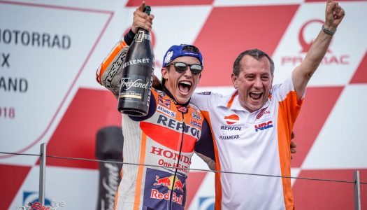 Marc Marquez takes his ninth Sachsenring win