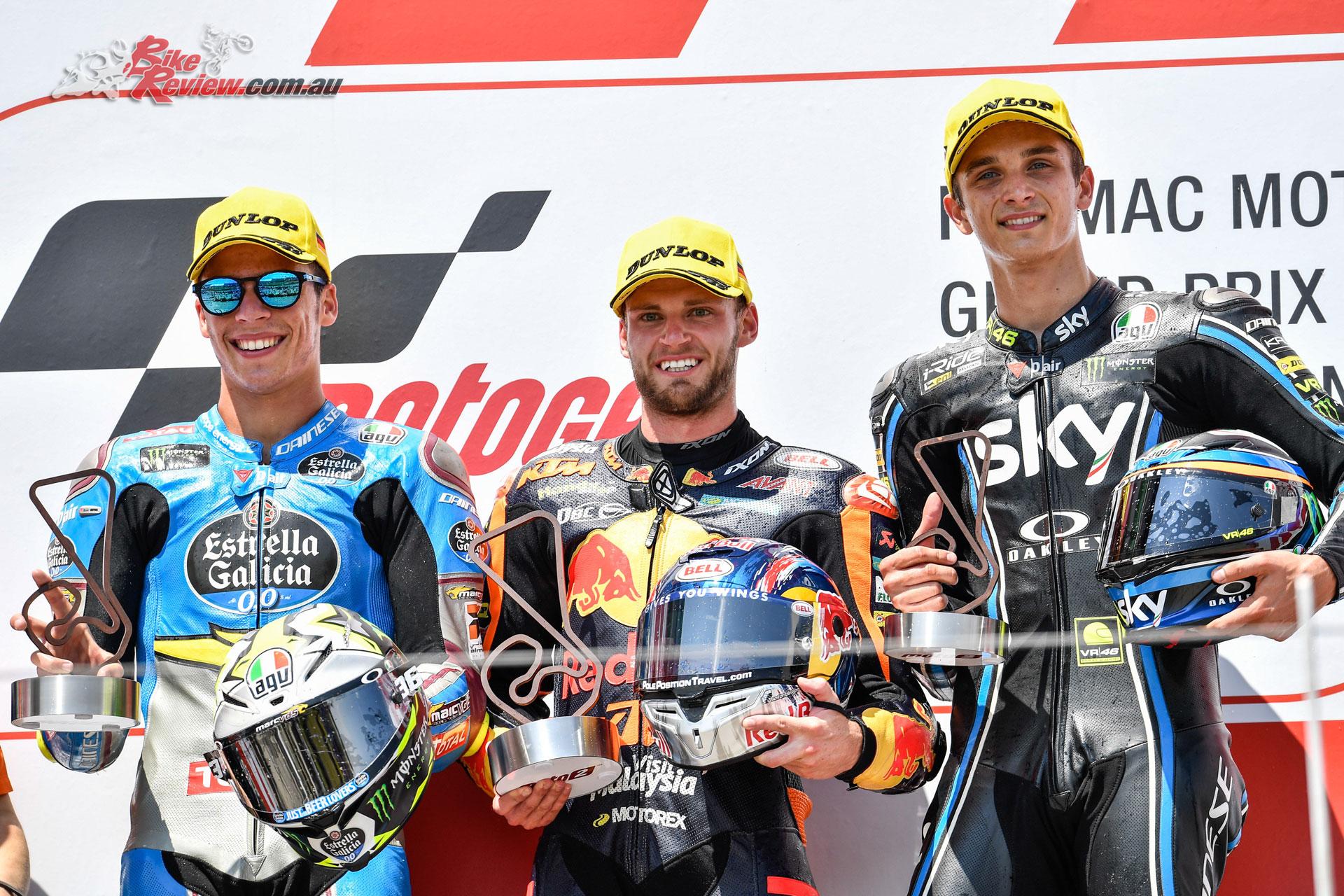 Moto2 Podium - Sachsenring