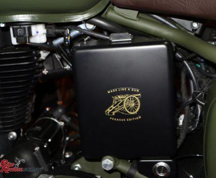 2018 Royal Enfield Classic Pegasus Edition