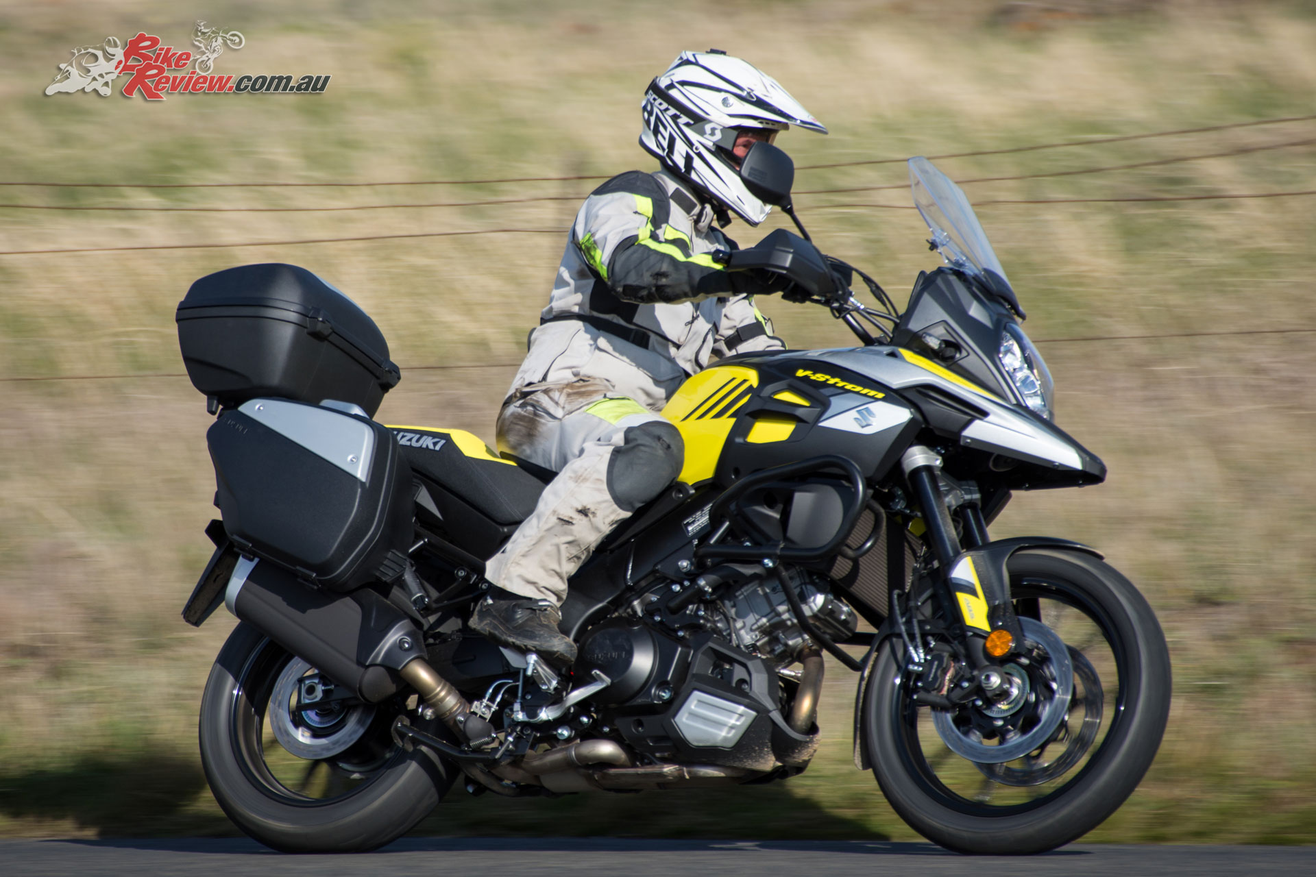 2018 suzuki v strom 1000 bonus accessory deal bike review. Black Bedroom Furniture Sets. Home Design Ideas