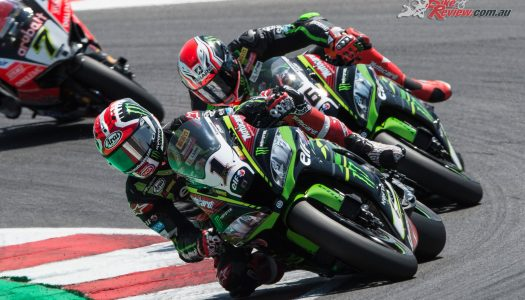 Rea wins Misano Race 2 scorcher for the double