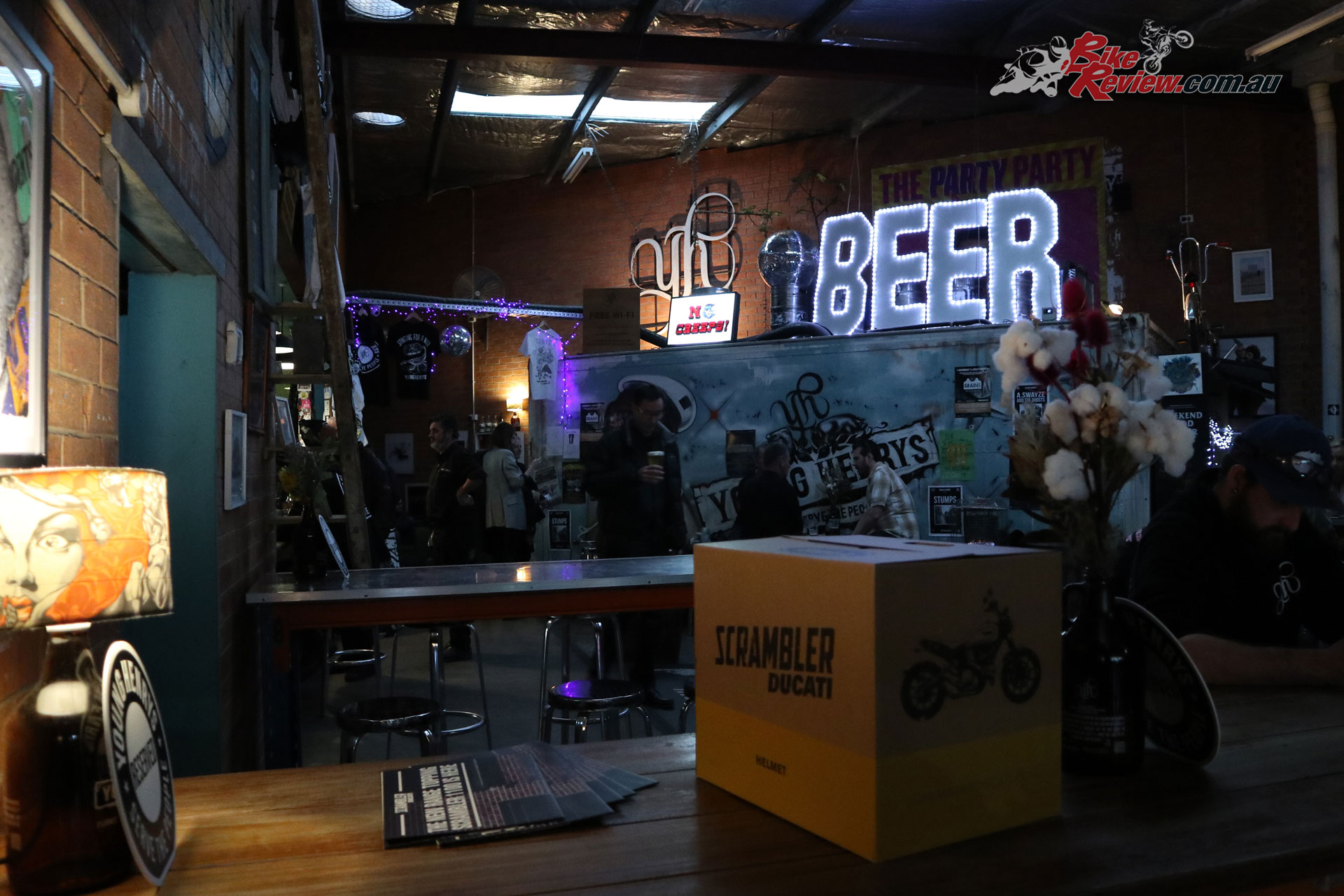Ducati Scrambler 1100 Launch Event - Young Henrys, Newtown