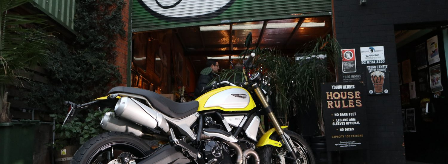 Ducati Scrambler 1100 Launch Event at Young Henrys, Newtown