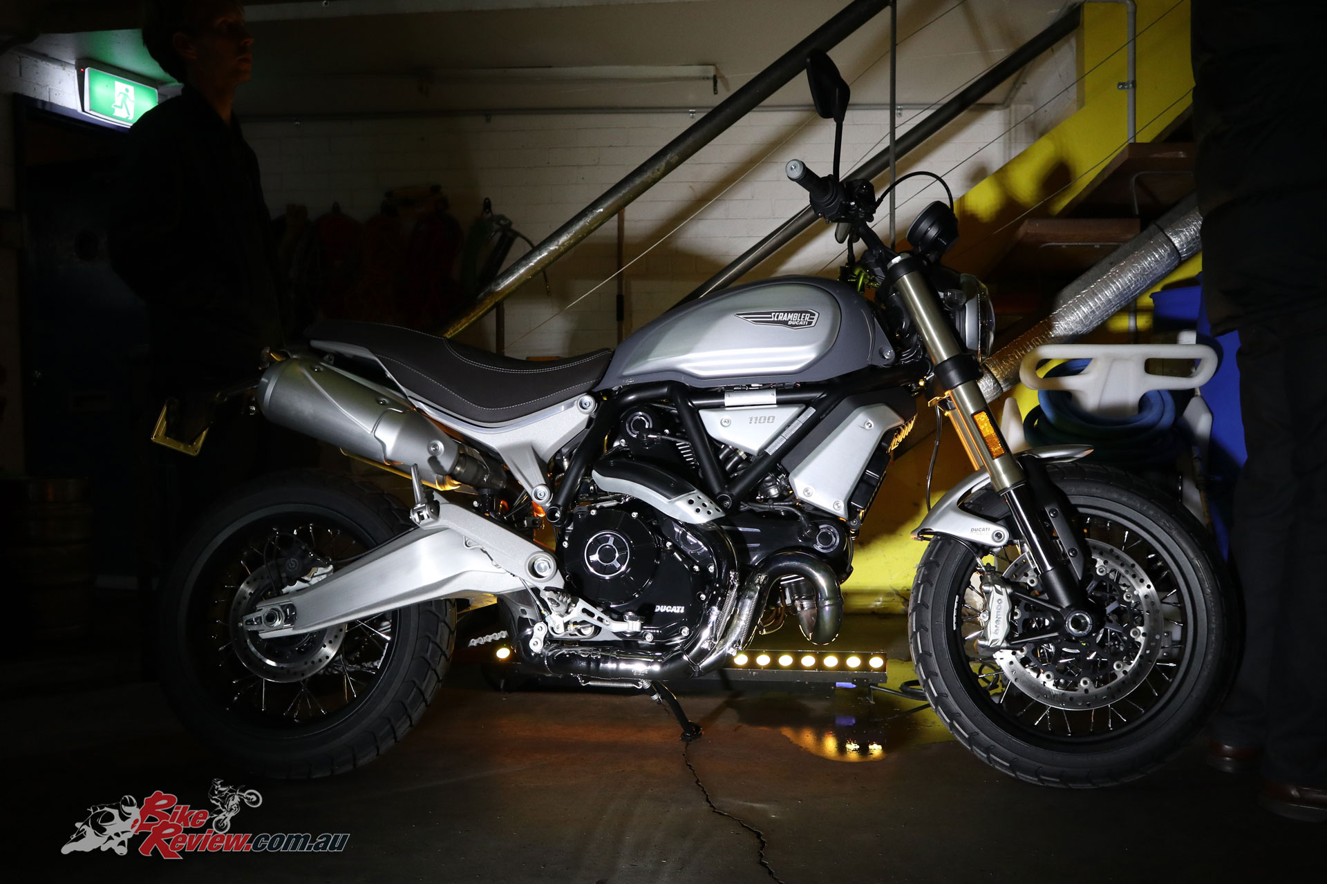 Ducati Scrambler 1100 Special - Spoked wheels, chromed headers, low 'bars, brushed aluminium swingarm