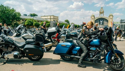 Harley celebrates 115th Anniversary with Prague Party