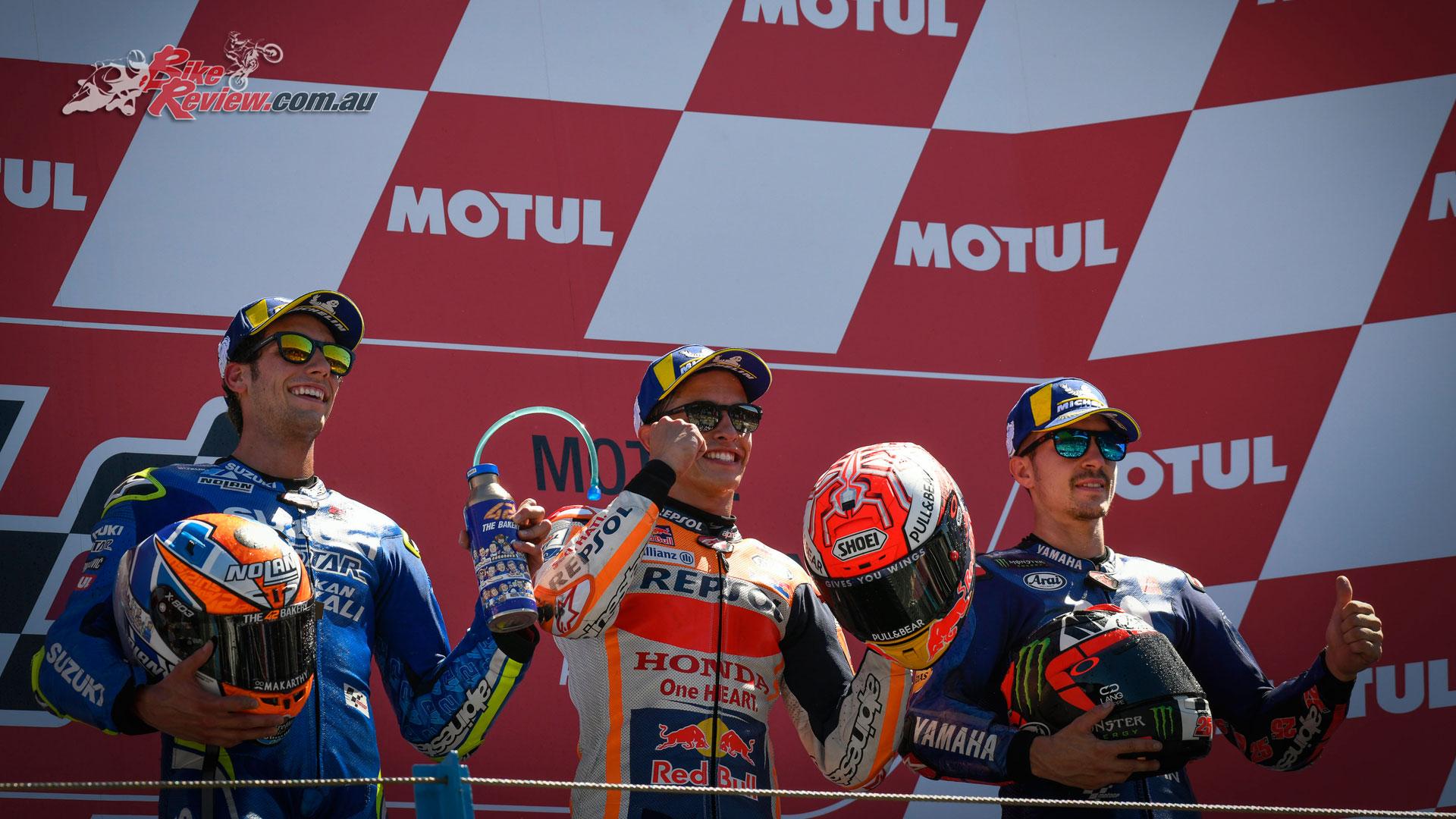 MotoGP 2018 - Assen - Podium