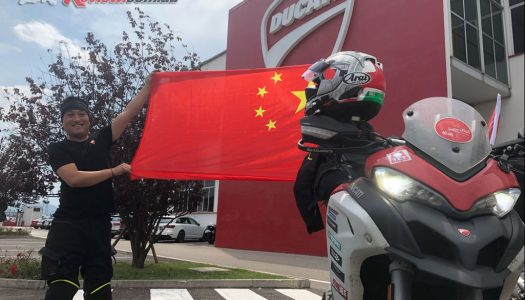 China to World Ducati Week – 7575km in 7 days