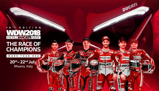13 WDW Race of Champions Panigale V4s to be auctioned