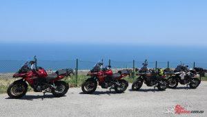 2018 Benelli TRK 502X - Exploring around Pesaro in Italy