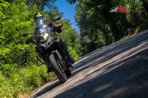 The TRK 502X's powerplant is a familiar performer after riding the Leoncino.