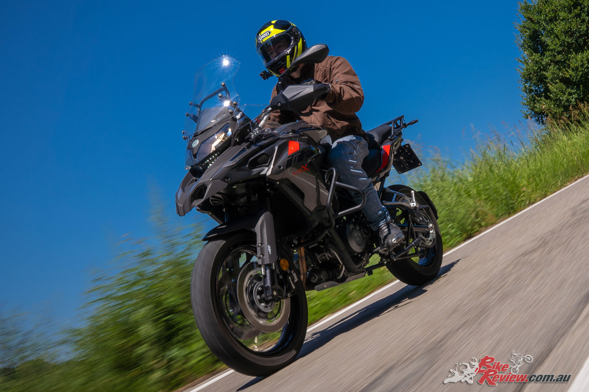 Benelli Italy told us the TRK is the fourth best selling motorcycle in their market.