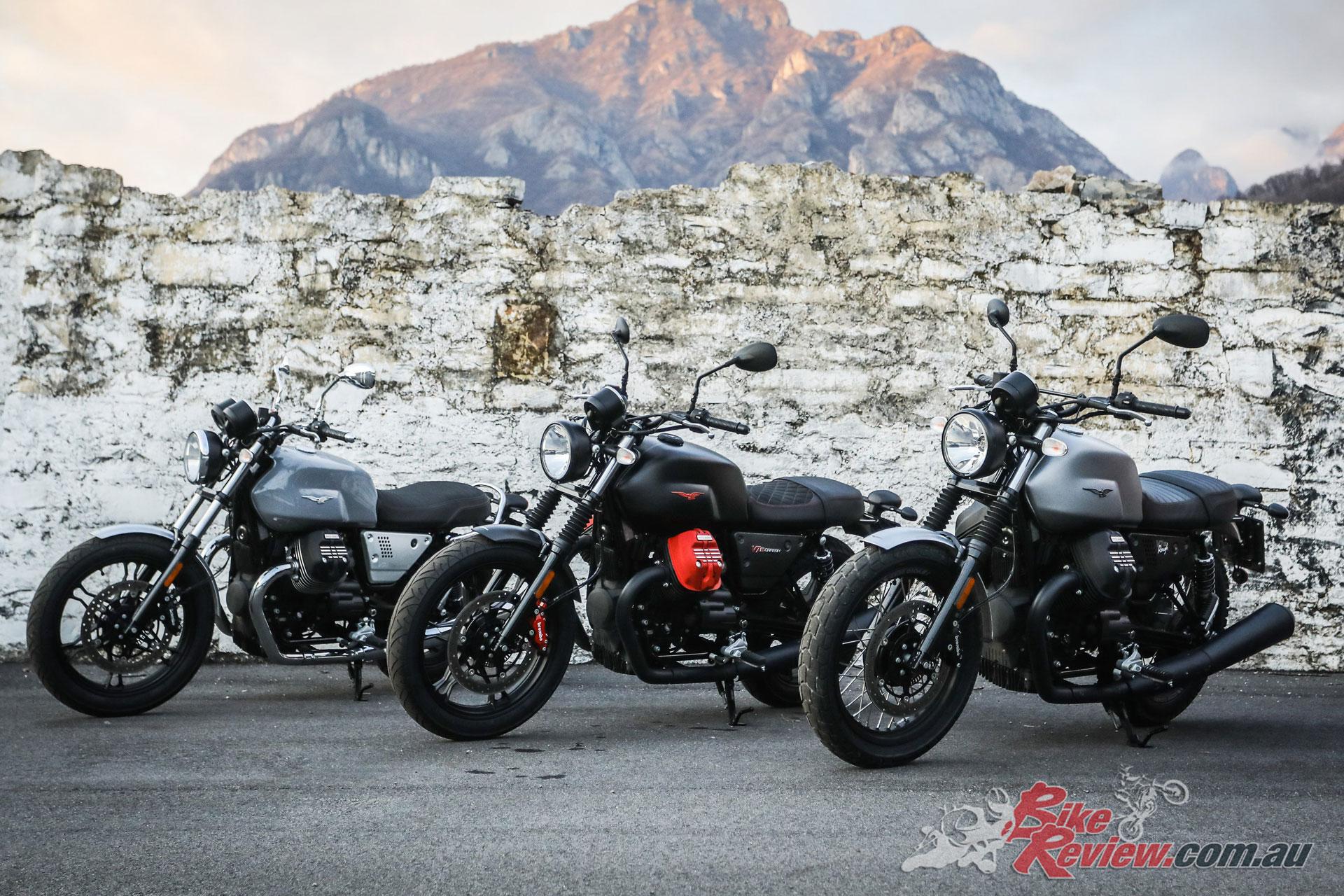 Moto Guzzi V7 III Limited Edition Range - Carbon, Rough, Milano