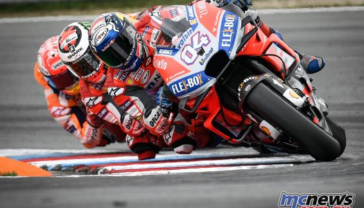 Desmo Dovi wins the Battle of Brno