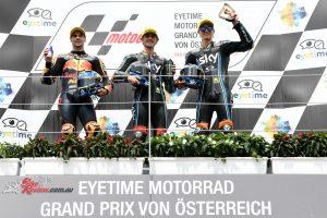 Moto2 Podium - Red Bull Ring 2018