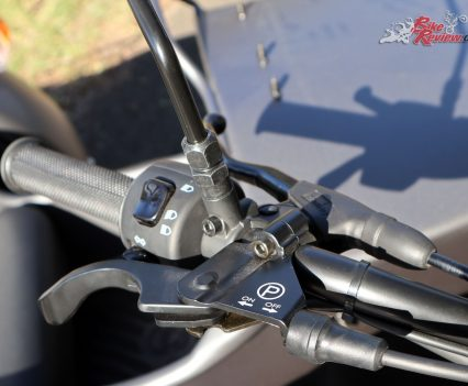 Ural Ranger - Hand brake