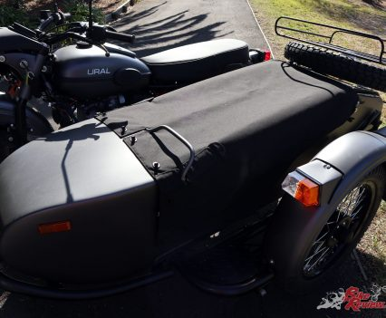 Ural Ranger - Sidecar with canvas cover