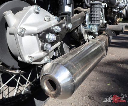 Ural Ranger - Exhaust and shaft drive