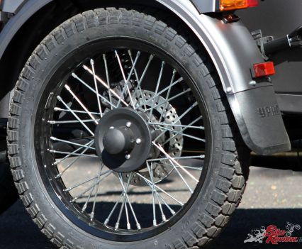 Ural Ranger - Disc brakes with Brembo calipers