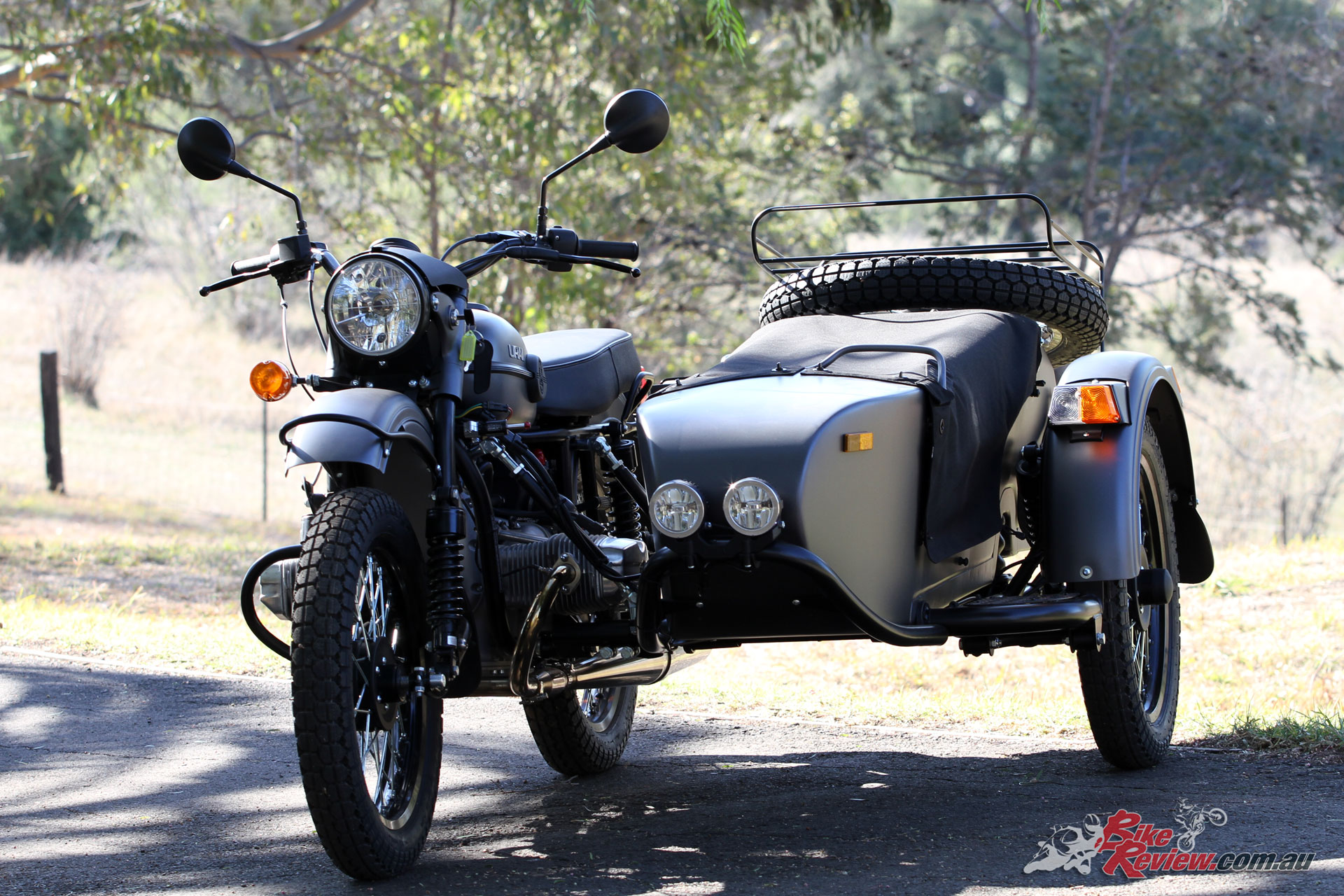With extremely generous ground clearance the Ural Ranger is ready for adventure