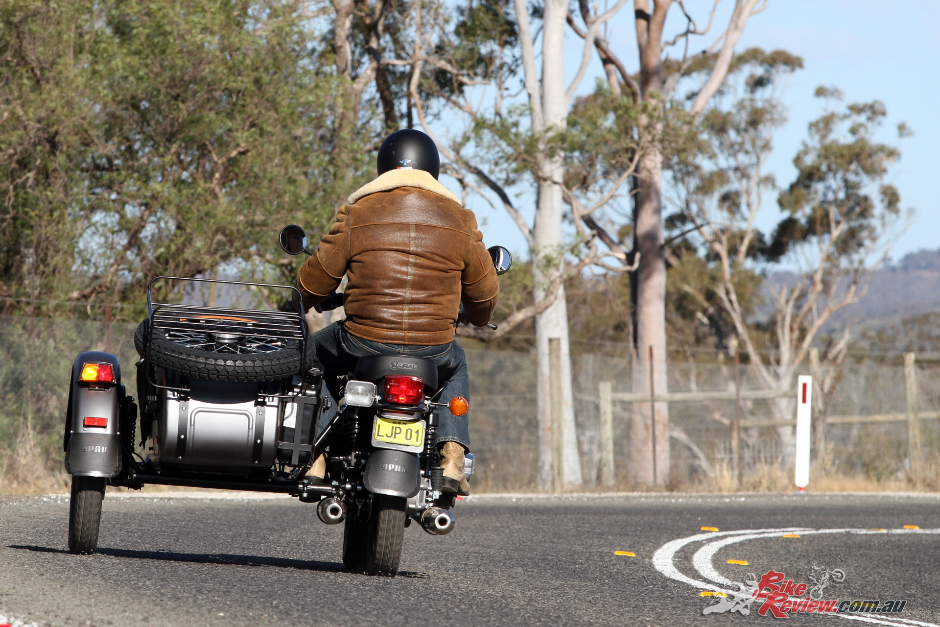 The Ural Ranger is at home in the suburbs as it is cruising the highway