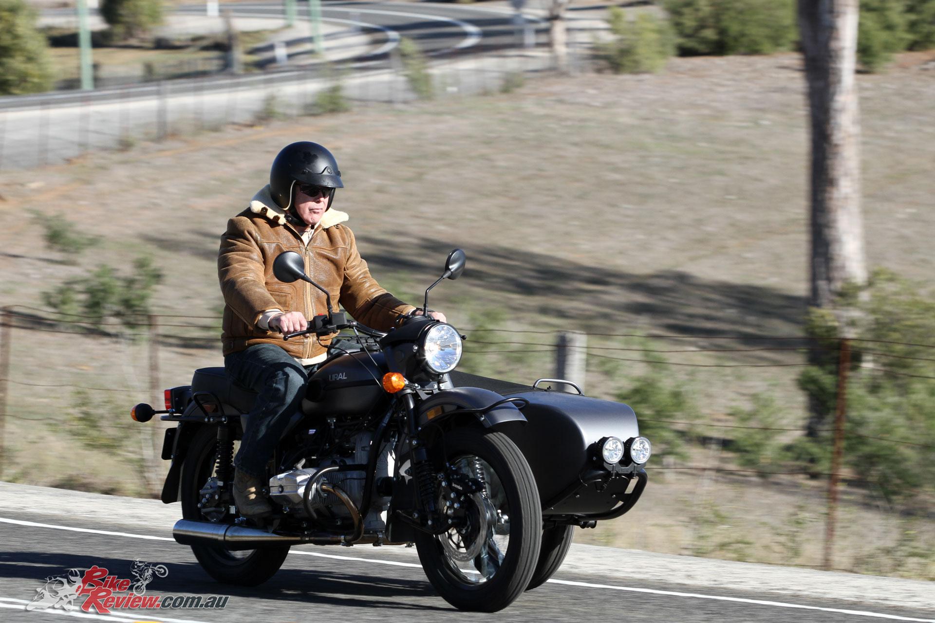 The Ural Ranger boasts a kit designed for off-road use