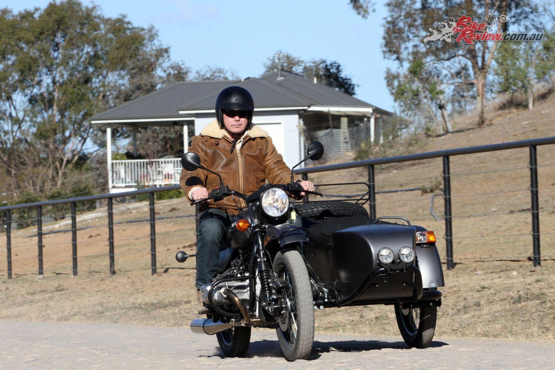 Paul Bailey tests the 2018 Rural Ranger Sidecar