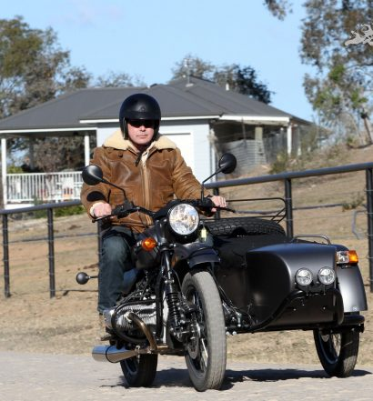 Paul Bailey tests the 2018 Rural Ranger Sidecar