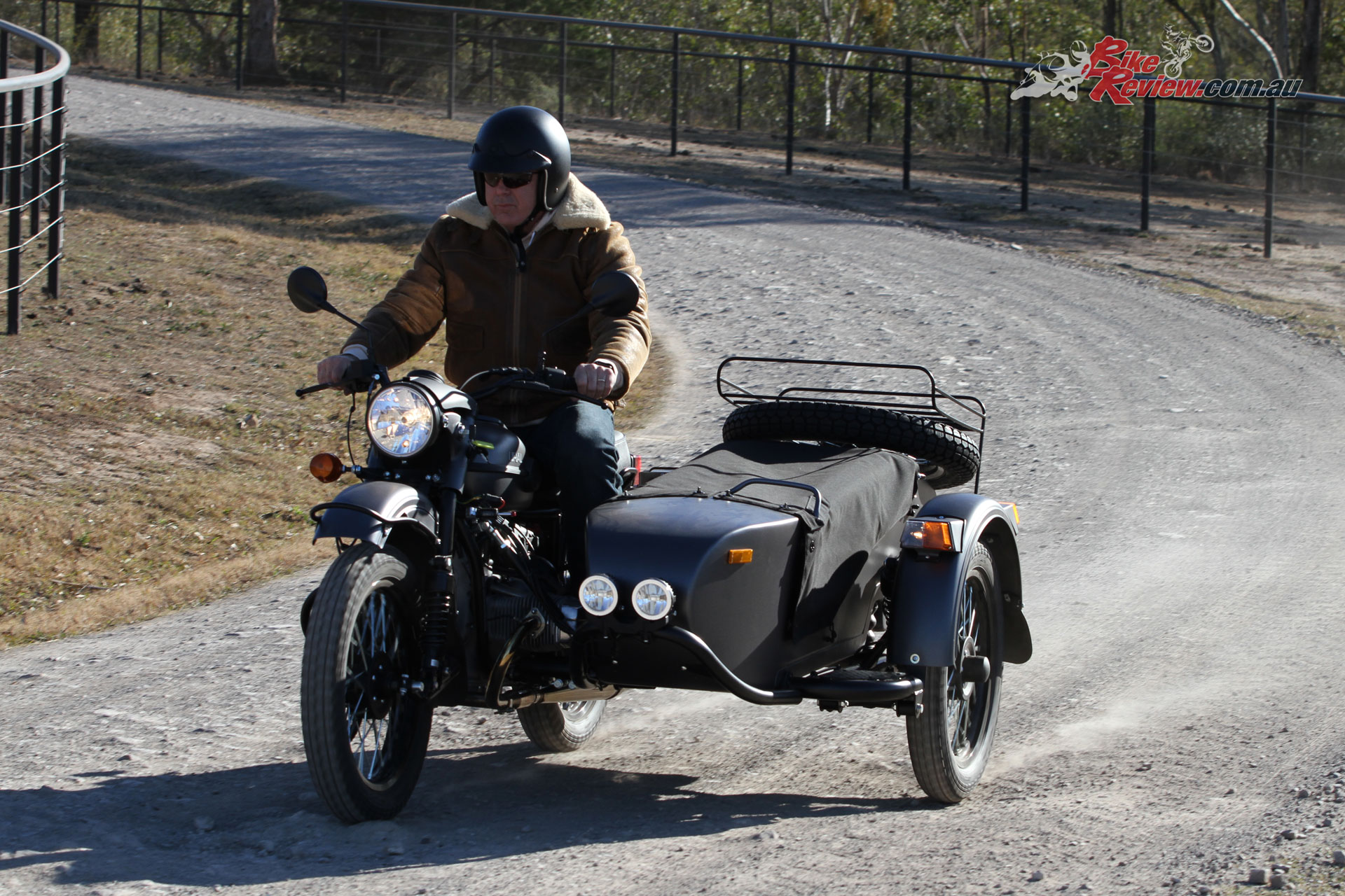 The Ural Ranger will handle Australia's outback roads and is competent across the rough stuff in the right hands