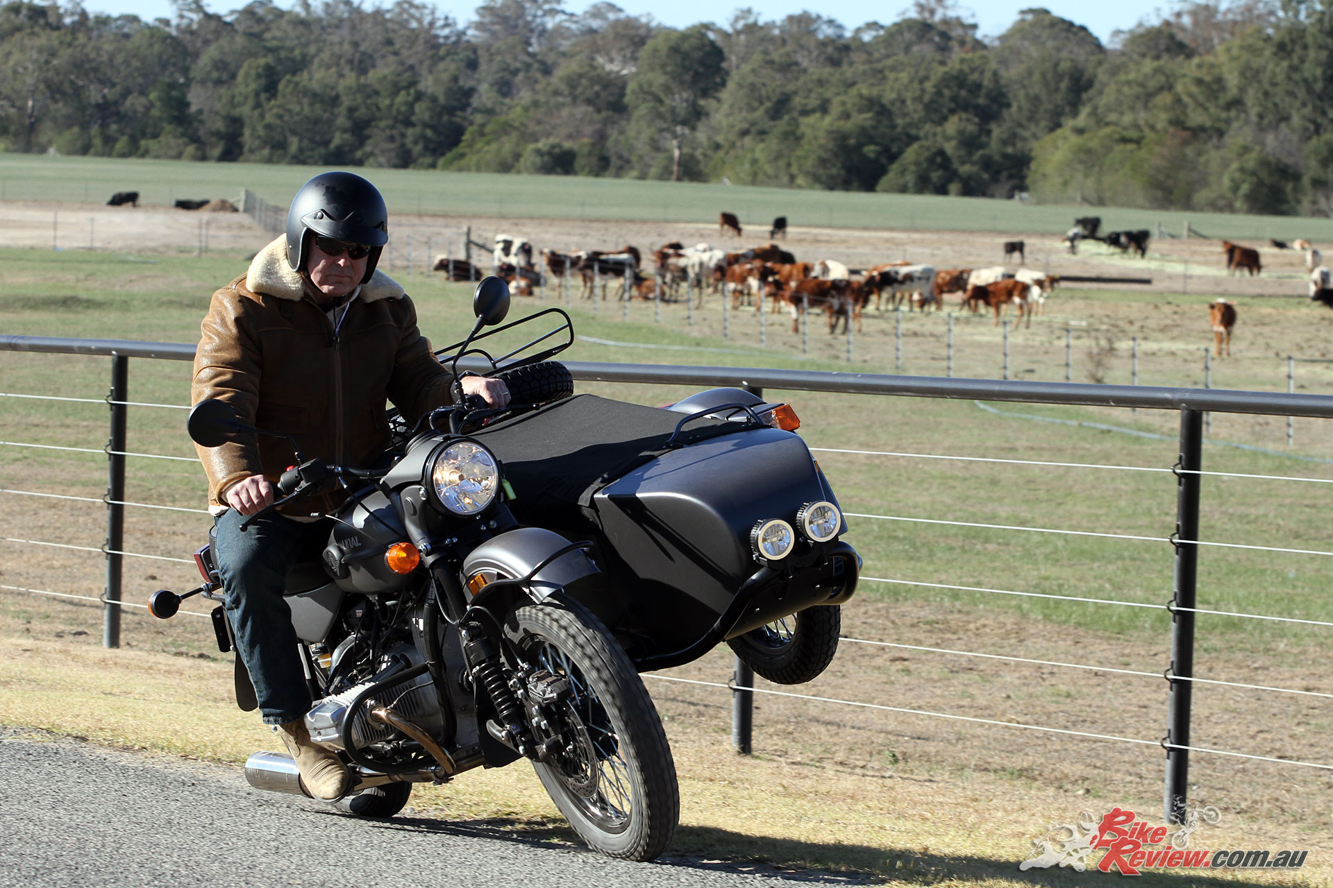 Ural sidecars originate from the Soviet Union in the '40s but have proven a strong option in the long term