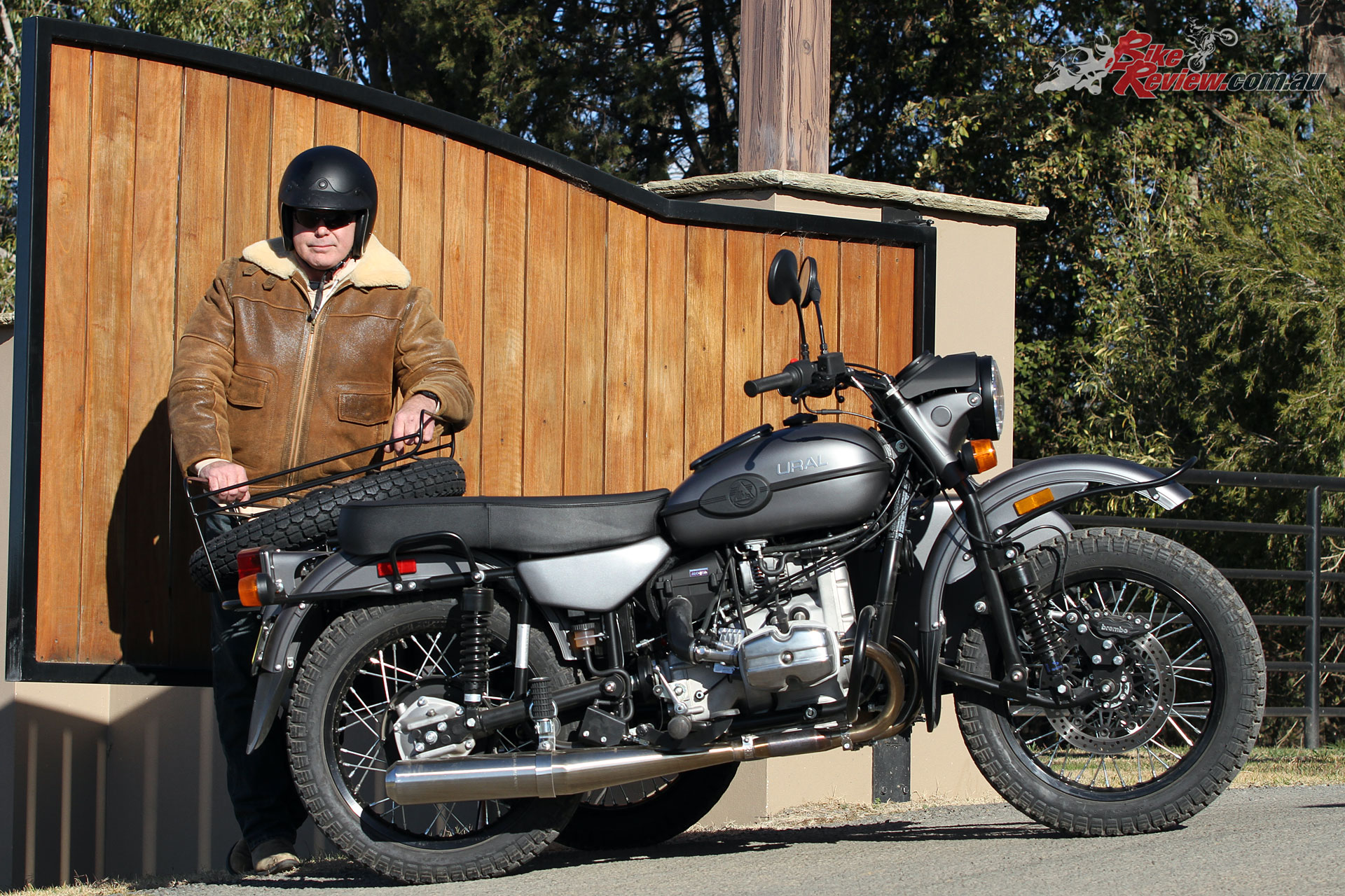 Paul Bailey with the Ural Ranger