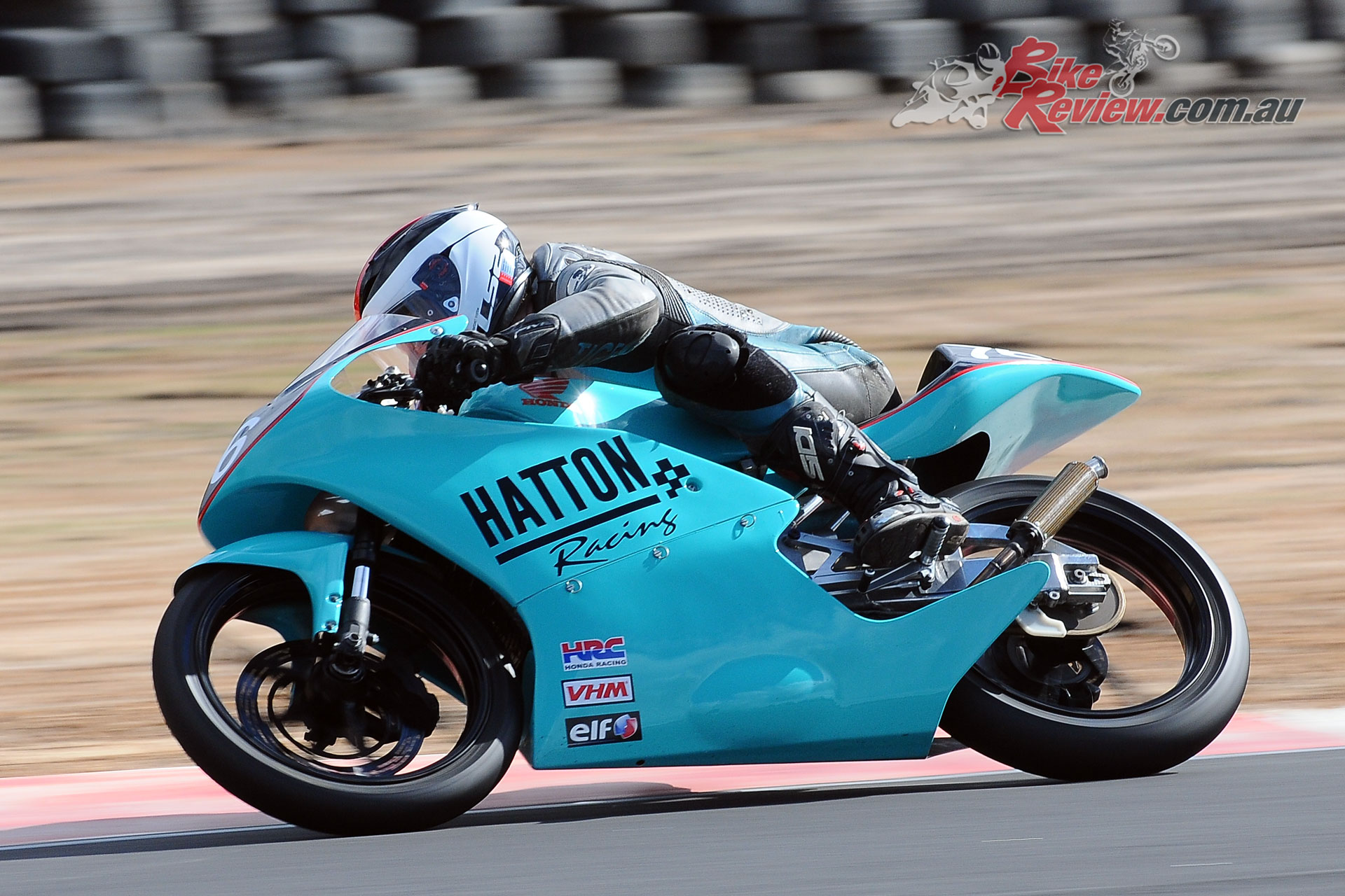 Former State 125GP Champion Tom Hatton (Hatton Racing Honda RS125)