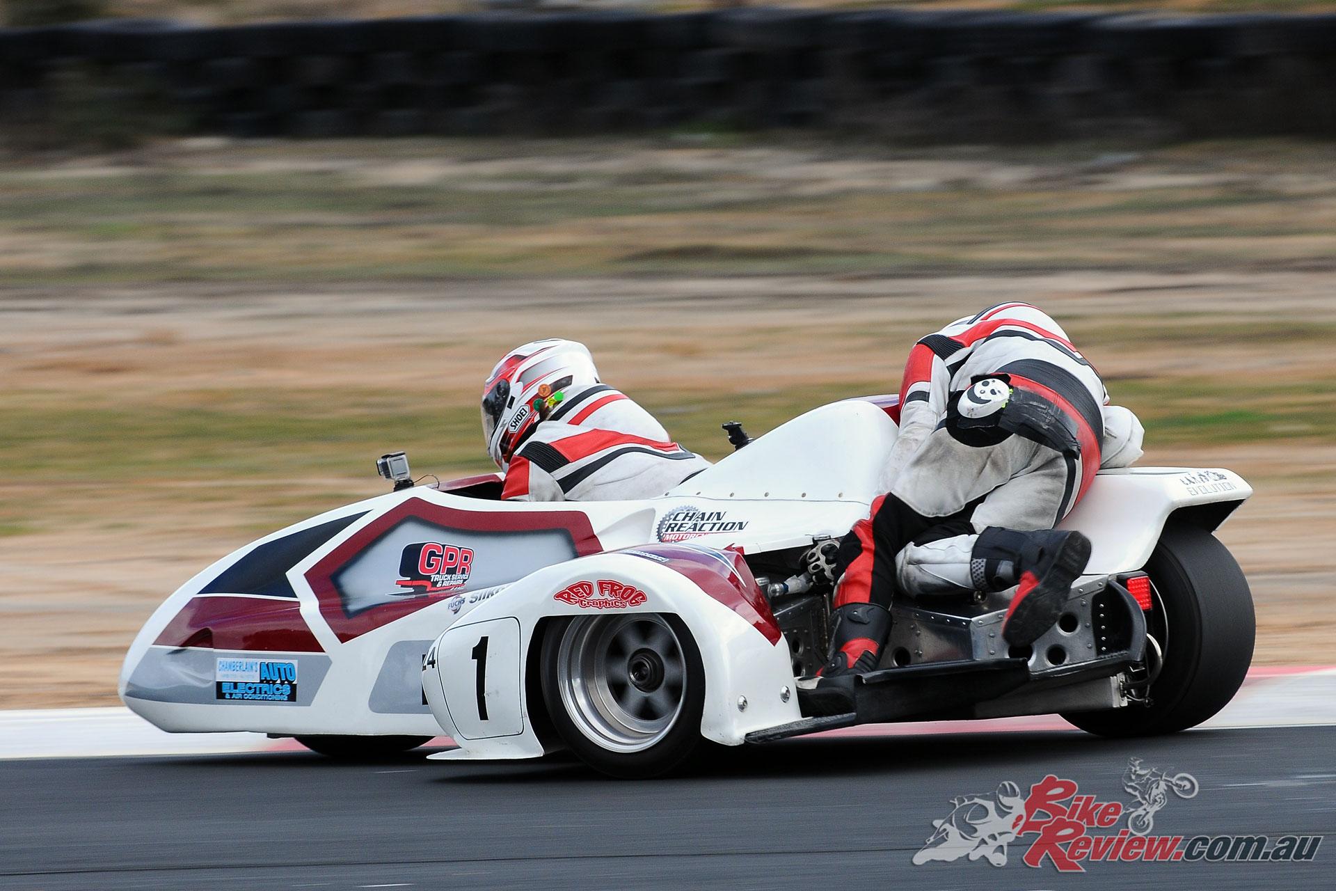 Jero Joyce/Corey Blackman (Chamberlain Auto Electrics ZX10)
