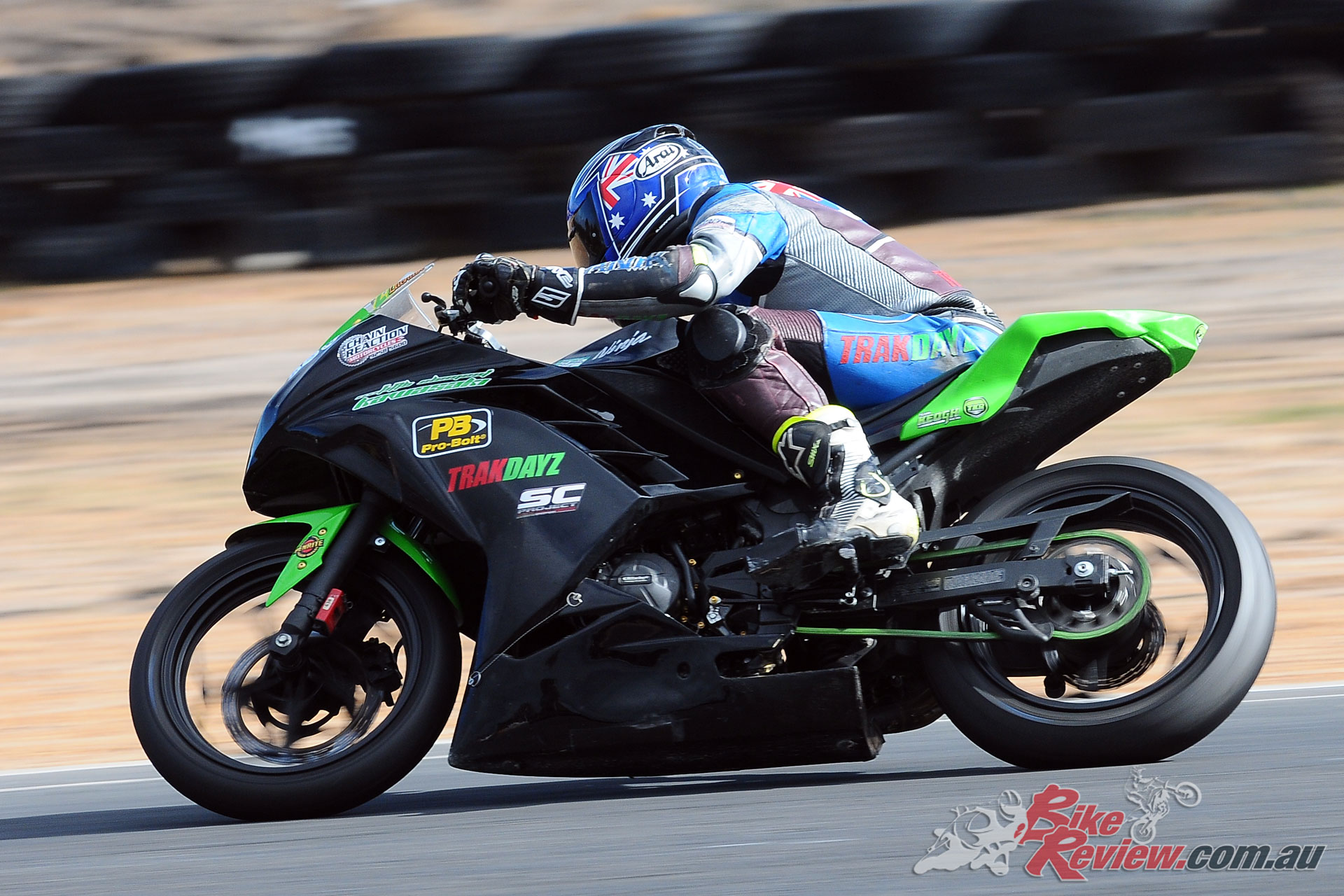 Lachlan Keogh (Chain Reaction Motorcycles Kawasaki Ninja 300)