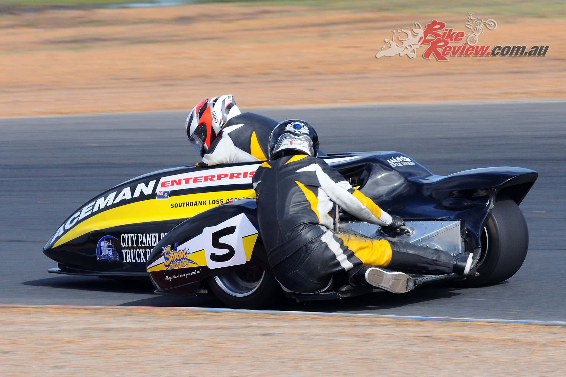 Murray Stronach/Steve Marshall (Aceman Enterprises Suzuki 1000)