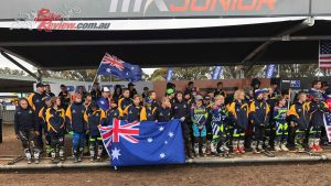 Australia put on a strong showing at the 2018 WJMX in Horsham, taking two championship wins and the Trophy of Nations