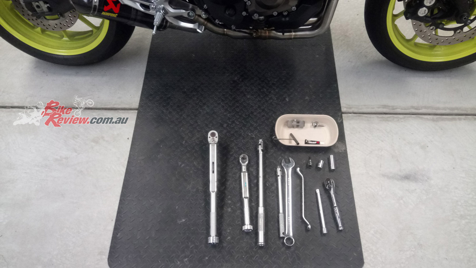All youll need are basic tools, similar to what youd use for basic servicing.