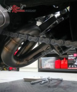 Double check the mid-pipe mounting point too, as well as the muffler bracket points.