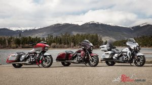 2019 Harley-Davidson CVO touring collection