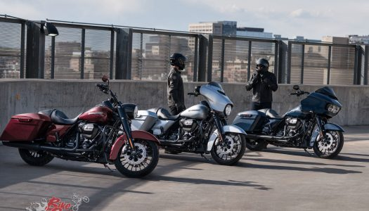 Harley-Davidson announce three new 2019 CVO models