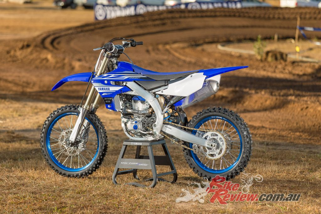 The 2019 Yamaha YZ250F is all new from the ground up...