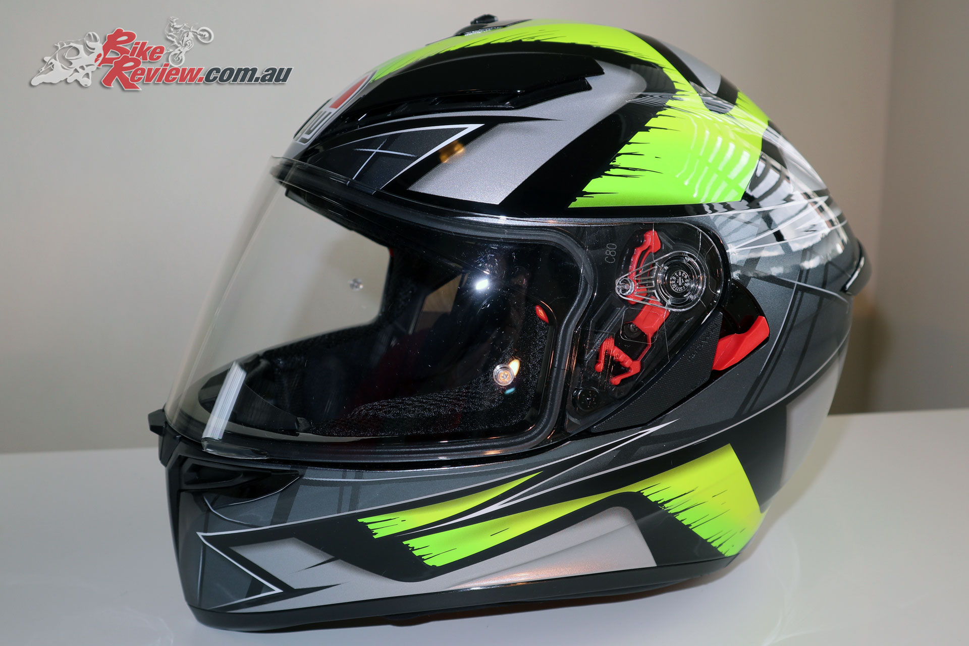 The AGV K-3 SV Helmet in Liquefy