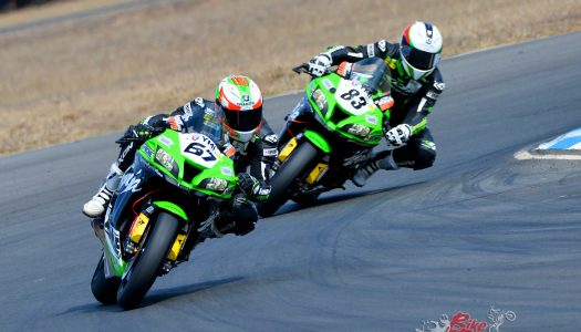 Max effort from Kawasaki BCperformance at Morgan Park