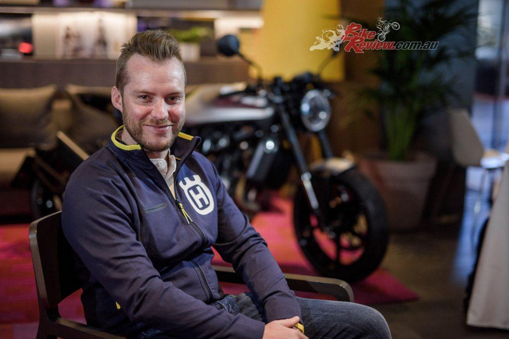 Justin Maxwell, Husqvarna Motorcycles.